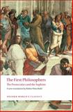 The First Philosophers 9780199539093