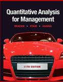 Quantitative Analysis for Management 11th Edition