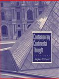 Contemporary Continental Thought 9780131829190
