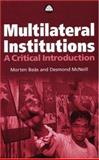 Multilateral Institutions 9780745319209