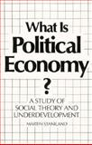 What Is Political Economy? 9780300039368