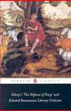 Sidney's the Defence of Poesy' and Selected Renaissance Literary Criticism 9780141439389