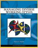 Managing Diverse Working Styles 9780324259452
