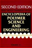 Encyclopedia of Polymer Science and Engineering, Poly (Phenylene Ether) to Radical Polymerization 9780471809456