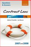 Law of Contract 2007 - 2008 9780199299553