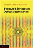 Structured Surfaces as Optical Metamaterials 9780521119610