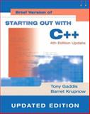 Starting Out with C++ 9780321419613