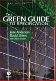 The Green Guide to Specification 9780632059614