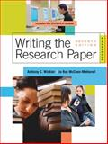 Writing the Research Paper 2009 9780495799658