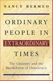 Ordinary People in Extraordinary Times 9780691089706