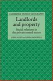 Landlords and Property 9780521619707