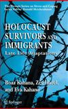 Holocaust Survivors and Immigrants 9780387229720