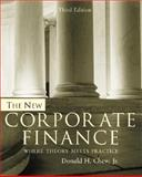 The New Corporate Finance 3rd Edition