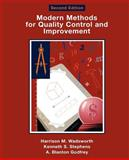 Modern Methods for Quality Control and Improvement 9780471299738