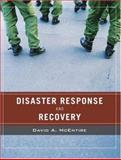 Wiley Pathways Disaster Response and Recovery 9780471789741