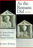As the Romans Did 9780195089745