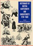 Dictionary of British Cartoonists and Caricaturists 9780859679763