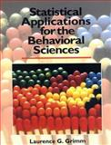 Statistical Applications for the Behavioral Sciences 1st Edition