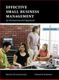 Effective Small Business Management 9780131469846