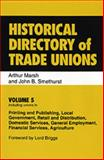 Histrical Directory of Trade Unions 9780859679909