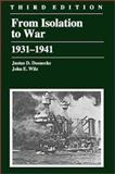 From Isolation to War, 1931-1941 9780882959924