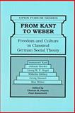 From Kant to Weber 9780894649929