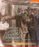 The African-American Odyssey, Volume 1, Books a la Carte NEW MyHistoryLab with EText -- Access Card Package 6th Edition