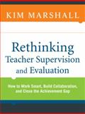 Rethinking Teacher Supervision and Evaluation 9780470449967