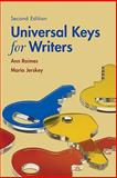 Universal Keys for Writers (with 2009 MLA Update Card) 2nd Edition