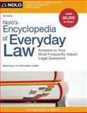 Nolo's Encyclopedia of Everyday Law 9th Edition